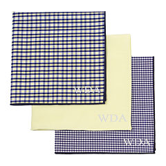 Personalized Gingham Handkerchief Set