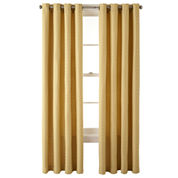 JCPenney Home™ Rory Grommet-Top Curtain Panel