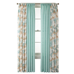 CLOSEOUT! MarthaWindow™ Covington Square or Hydrangea Cotton Window Treatments