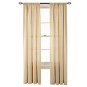 MarthaWindow™ Hawley Rod-Pocket Cotton Curtain Panel