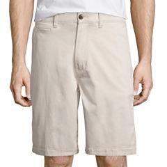 St. John's Bay® Stretch Chino Short