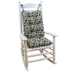 Klear Vu Seashell Jumbo Universal Rocking Chair Cushions