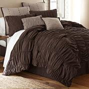 Bayle Ruched 8-pc. Comforter Set