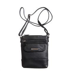Stone And Co Ns Flap Pocket Pebble Leather Mini Crossbody Bag