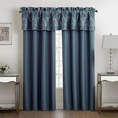 Marquis by Waterford Desire Lake Rod-Pocket Curtain Panel
