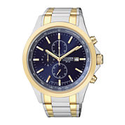 Citizen® Mens Two-Tone Stainless Steel Chronograph Sport Watch AN3514-59L
