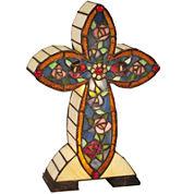 Dale Tiffany™ Flora Cross Accent Lamp