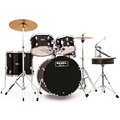 Mapex RB5044FTCDK Rebel 5-pc. Drum Set with Hardware & Cymbals with 20