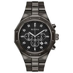 Bulova Mens Gray Bracelet Watch-98d142