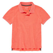Arizona Boys Solid Polo - Preschool 4-7
