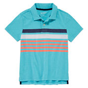 Arizona Boys Stripe Polo - Preschool 4-7