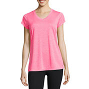 Xersion™ Quick-Dri Short-Sleeve Melange Tee