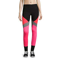 Xersion Colorblock Mesh Inset Leggings