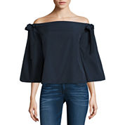 i jeans by Buffalo Bow Sleeve Top