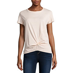 i jeans by Buffalo Twist Front Top