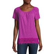 St. John`s Bay Short Sleeve T-Shirt