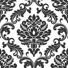 Damask Peel-and-Stick Wallpaper