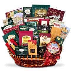 Alder Creek Gourmet Extravagance Sweet and Savory Gift Basket