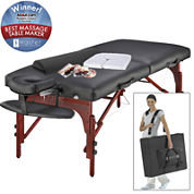 """Master® Massage Montclair Pro 31"""" Portable Massage Table Set"""