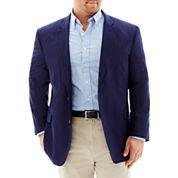 Stafford® Linen-Cotton Sport Coat - Big & Tall