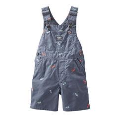 OshKosh B'gosh® Dinosaur Shortalls - Baby Boys 3m-24m