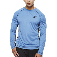 Asics® Long-Sleeve Trainer Henley