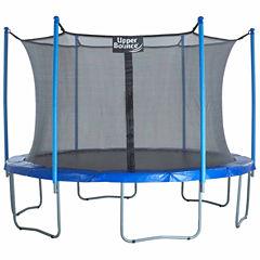 Upper Bounce 12ft Trampoline & Enclosure Set