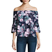 a.n.a Off The Shoulder Peplum Blouse