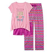 Starride Kids Girls Pant Pajama Set-Big Kid