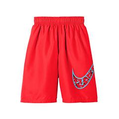 Nike Boys Core Swoosh Swim Trunks-Big Kid