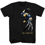 Marvel X-Men Angry-1 Graphic T-Shirt