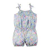 Carter's® Sleeveless Floral Romper - Baby Girls newborn-24m