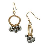 Bold Elements Bead Drop Earrings