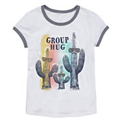 Arizona Girls Short Sleeve Graphic T-Shirt - Girls' 7-16 and Plus