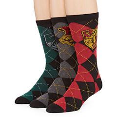 Warner Bros. Harry Potter® 3-pk. Crew Socks