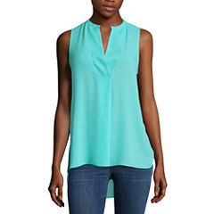 a.n.a Sleeveless Popover Tunic