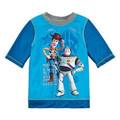 Disney Boys Solid Rash Guard-Big Kid