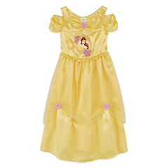 Disney Belle Short Sleeve Beauty and the Beast Nightgown