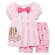 Disney Baby Collection Lady and the Tramp 2-pc Dress Set - Baby Girls newborn-24m