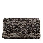 Gunne Sax by Jessica McClintock Arielle Envelope Flat Lace Clutch