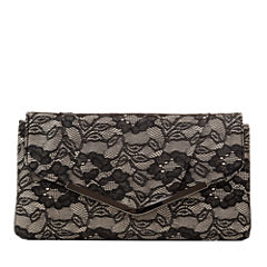 Gunne Sax by Jessica McClintock Arielle Envelope Flat Lace Evening Bag