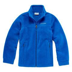 Columbia Boys Lightweight Fleece Jacket-Big Kid