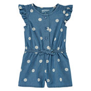 Arizona Short Sleeve Romper - Baby
