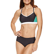 Free Country® Bra Swimsuit Top or Rouched Bikini Bottoms