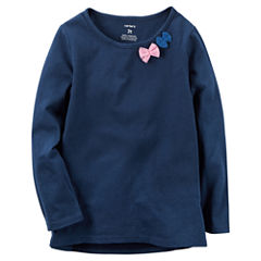 Carter's Girls Long Sleeve T-Shirt-Baby