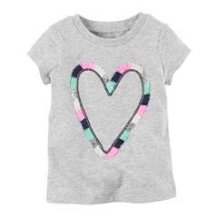 Carter's Infant Girls Short Sleeve T-Shirt