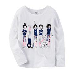 Carter's Infant Girls Long Sleeve T-Shirt