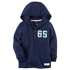 Carter's Preschool Longsleeve Hooded Henley
