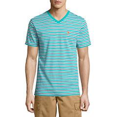 U.S. Polo Assn. Short Sleeve V Neck T-Shirt