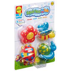 Alex Toys Rub A Dub Bath Squirters Garden 4-pc. Toy Playset